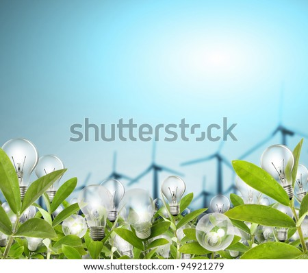 Lightbulb - stock photo