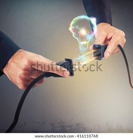 lightbulb connection