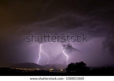 lightening strikes