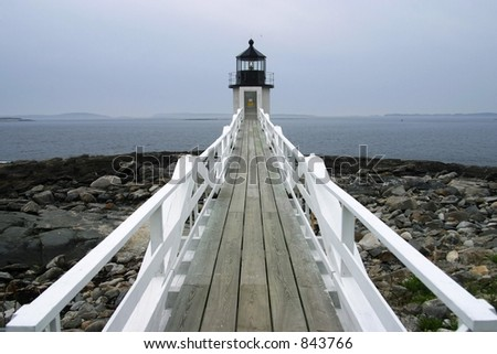 Lighthouse, Acadia National Park, ME, USA