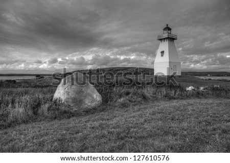 Lighthouse along the Atlantic Coast of Canada
