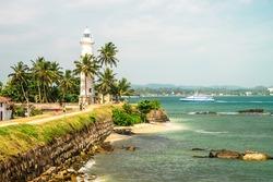 Lighthouse area, Galle gort - Sri Lanka