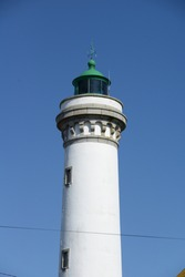 Lighthouse at Port Maria, Quiberon, Brittany