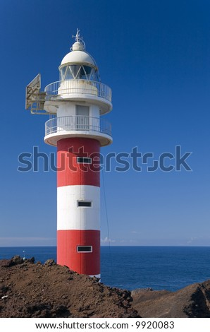 Lighthouse at Punta de Teno - at the north-western tip of Tenerife