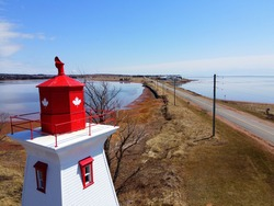 Lighthouse at Victoria by the Sea, Prince Edward Island