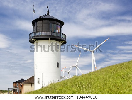 "Lighthouse ""Big Bertha"" in Cuxhaven, Germany"
