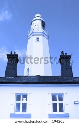 Lighthouse (blue filter)