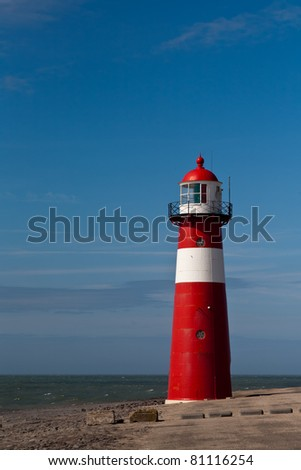 Lighthouse Close to the Sea