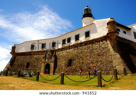 Lighthouse / Fortress - Salvador de Bahia - Brazil