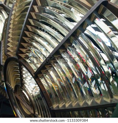 Lighthouse Fresnel Lens #1133309384