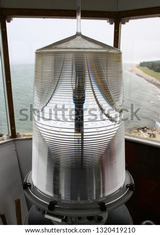Lighthouse fresnel lens #1320419210