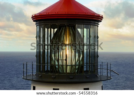 Lighthouse Glass, Detailed View