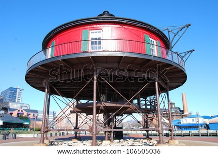 Lighthouse in Baltimore, Maryland / Round the Building