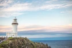 lighthouse in Byron Bay Australia