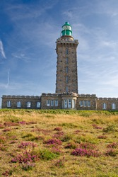 Lighthouse in Cap Frehel, Brittany, France