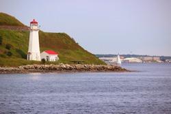 Lighthouse in Halifax, Nova Scotia, Canada