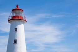 Lighthouse in Southern Part of Prince Edward Island Canada