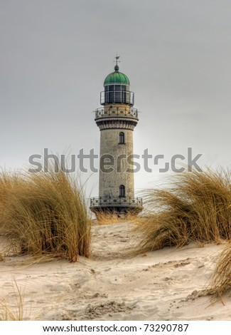 Lighthouse in Warnem�¼nde (Mecklenburg-Vorpommern, Germany) 04