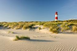 Lighthouse List East, Ellenbogen, Sylt, Schleswig-Holstein, Germany