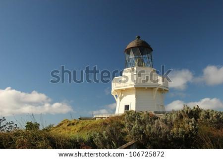 Lighthouse of Manukau Heads, Auckland New Zealand