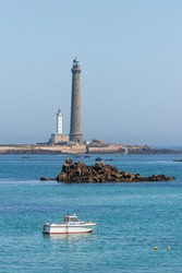 lighthouse of the Virgin Island, in Brittany
