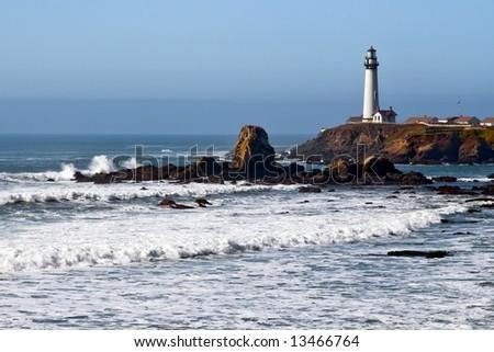 Lighthouse on the California Coast 2