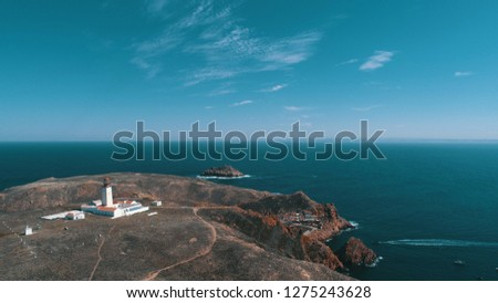 Stock Photo Lighthouse on the island, Portugal