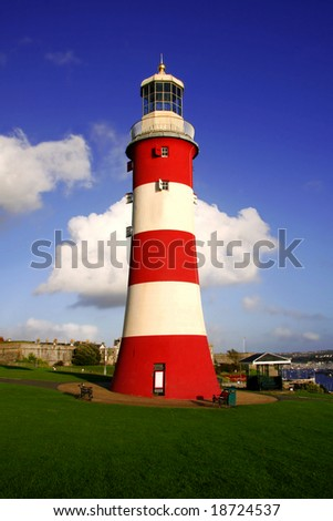 lighthouse, Plymouth, UK