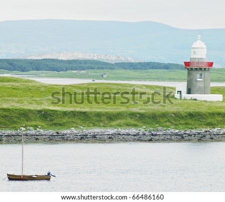 lighthouse, Rosses Point, County Sligo, Ireland