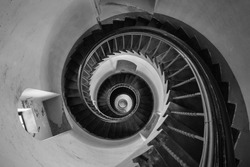 Lighthouse spiral staircase denmark  stairs
