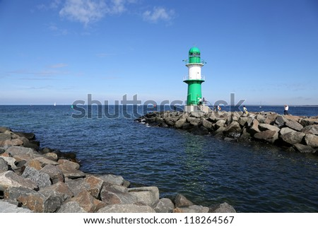 Lighthouse Warnem�¼nde