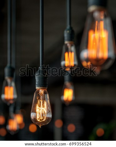 lighting bulb - Shutterstock ID 699356524