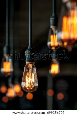 lighting bulb - Shutterstock ID 699356707
