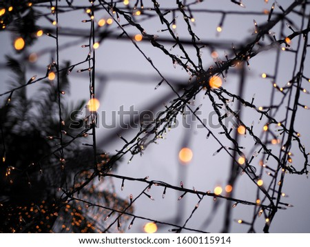 Lighting decoration for outdoor space