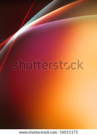 Lighting Effect wave Background  Color spectrum made by distorted stripes illustration