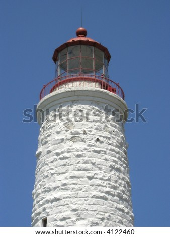 Lighting House Tower. A picture of Lighthouse tower where the navigation light is installed.