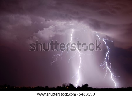 Lightning, Tucson AZ
