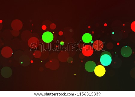 Lights background. Abstract Bokeh wallpaper #1156315339