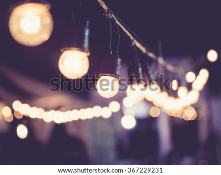 lights decoration event...