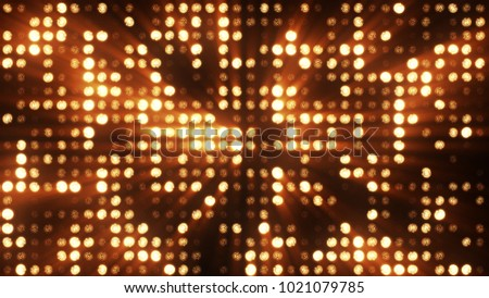 Lights flashing spotlight wall stage led blinking chromlech club concert dance disco dj matrix beam dmx fashion floodlight halogen headlamp jarag lamp night club party 3d illustration