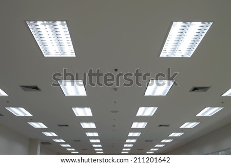Lights from ceiling
