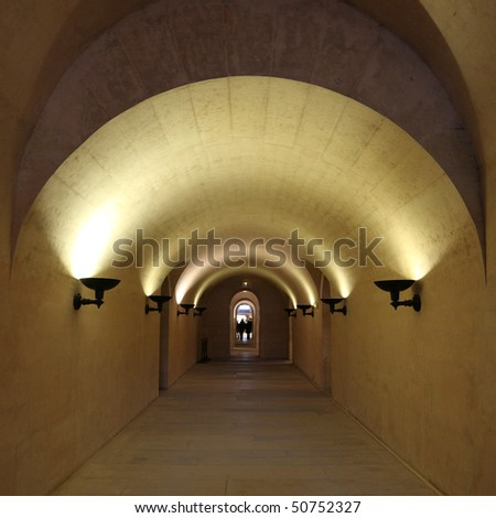 Lights in corridor