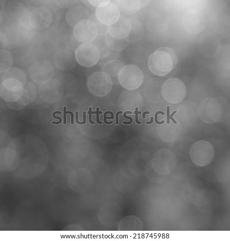 Lights on gray background. Shine of a holiday light.