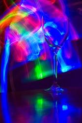 Lightstick and wineglass