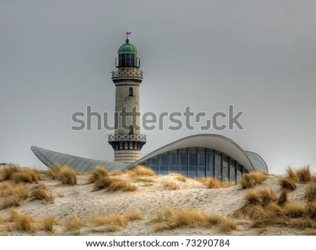 Lighttower in Warnem�¼nde (Mecklenburg-Vorpommern, Germany) 05