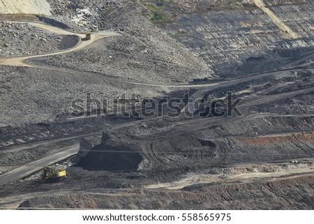 lignite coalmine