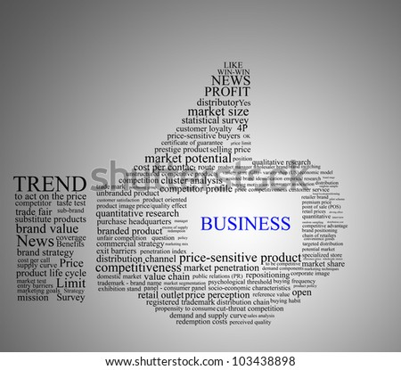 LIKE symbol, using text design in Business and Marketing concept