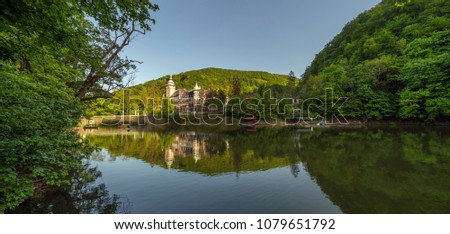 Lillafured castle near Miskolc, Hungary Stock fotó ©