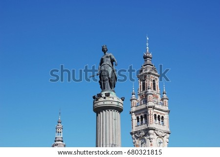 Lille Grand Place Monument ( France )  #680321815