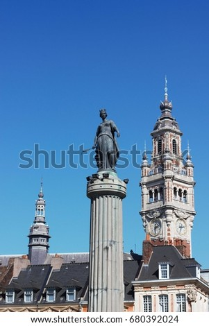 Lille Grand Place Monument ( France ) #680392024